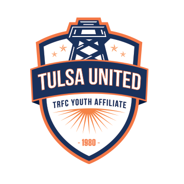 Tulsa United Official Tulsa Roughnecks Fc Youth Affiliate Crest